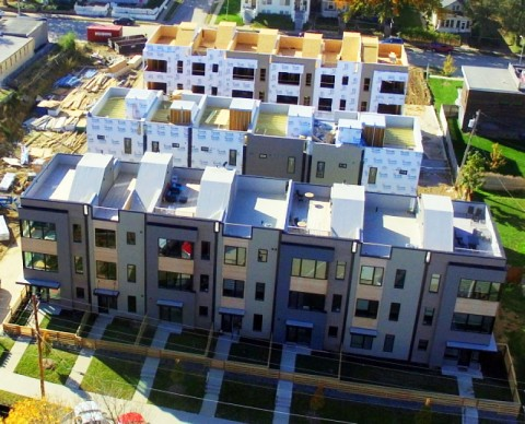 South Hill Row Houses Transitioning to Phase 2
