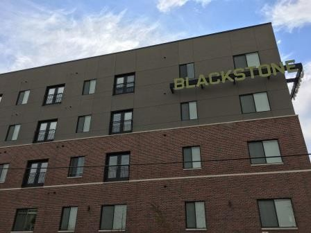 Blackstone Union and Blackstone Station Buildings Completed