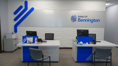 Bennington Bank Transformation Complete